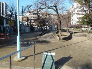 公園改修工事