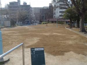 公園工事完了